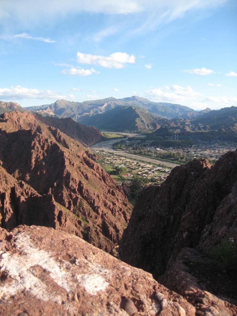 View of Tupiza