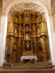 Spanish Church of Considerable Wealth in Sucre