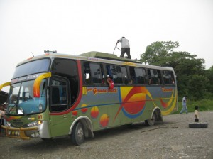 Bolivian Bus - Without Toilet - Which can be tough on 12+ hour rides on Bumpy Roads
