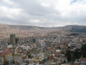 La Paz - Capital Of Bolivia