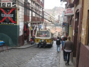 Steep Street During The Day